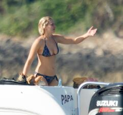Jennifer Lawrence y sus candentes vacaciones en Bahamas