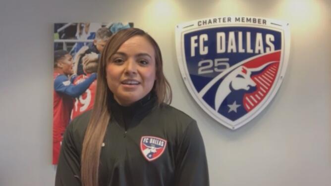 """""""Es un honor"""": la historia de la primera mujer preparadora física de la MLS y que hace parte del FC Dallas"""