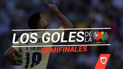 Revive los goles de las Semifinales del Clausura 2019