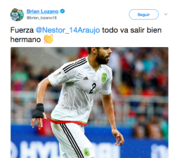 El mundo del fútbol envía mensajes de apoyo a Néstor Araújo tras su lesión contra Croacia