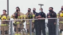 Policías y bomberos de San Antonio conmemoran a los héroes y víctimas del 11 de septiembre