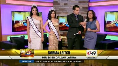 Ganadoras Miss Dallas Latina 2013