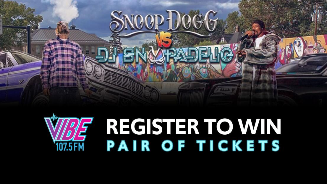 Register to Win Snoop Dogg vs DJ Snoopadelic!