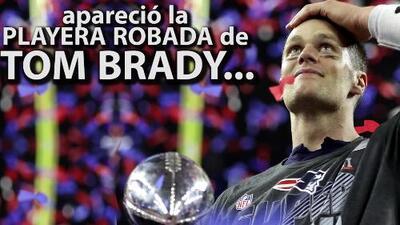 Patriots premian al fan que ayudó a encontrar el jersey robado de Tom Brady