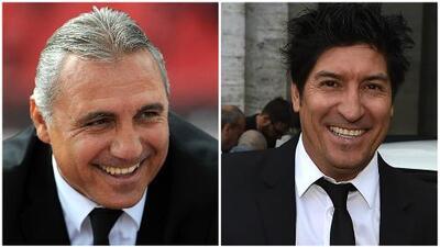 Hristo Stoichkov y el Bam-Bam Zamorano revivieron el clásico español en el Elvis Challenge