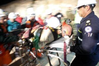 Mineros reciben atención médica