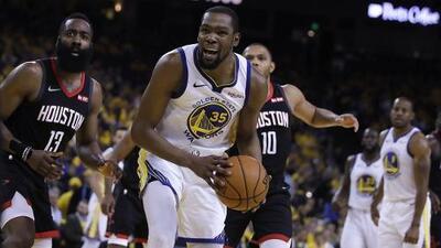 Golden State no contará con Kevin Durant en los Juegos 1 y 2 de la Final del Oeste