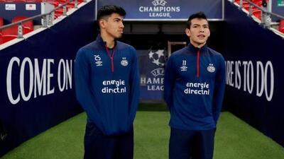 Erick Gutiérrez reporta con el PSV y se une al 'Chucky' en la pretemporada
