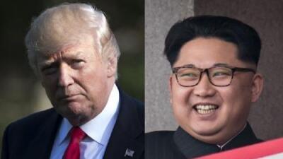 """Trump quiere resolver los """"enormes problemas"""" que está causando Corea del Norte, que le compara con Adolf Hitler"""