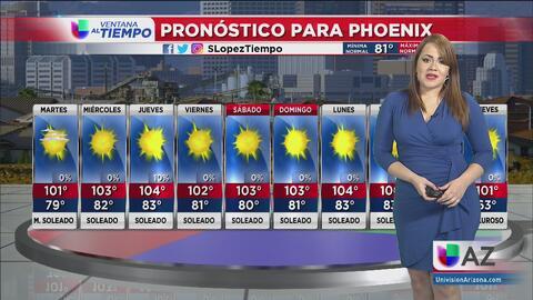 Continúan las altas temperaturas en la región