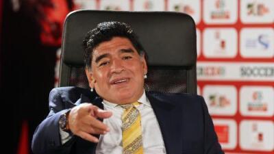 """Diego Armando Maradona: """"Messi no es más que Cristiano y viceversa"""""""