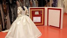El icónico vestido de novia de Lady Di estará en vitrina en el palacio de Kensington hasta 2022