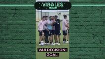 ¿Obsesión? Inter Miami recurrió al VAR en un entrenamiento