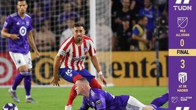 ¡Poder europeo! Atlético de Madrid derrotó con contundencia a la MLS