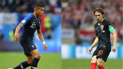 Francia y Croacia, la final de Rusia 2018 con pronóstico reservado