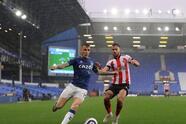 Sheffield United se impone ante el Everton en el Goodison Park 1-0. Daniel Jebbison le dio la victoria a los visitantes al minuto 7 del encuentro. James Rodriguez volvió a la titularidad pero no logró darle el triunfo a los 'Toffees' durante la Jornada 36 de la Premier League.