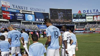Sumar puntos como local en el Yankee Stadium, la asignatura pendiente de New York City FC