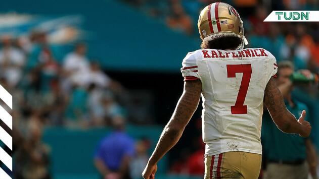 La NFL organizará entrenamiento privado para Colin Kaepernick