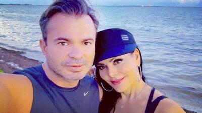 Él es Marco Chacón, el esposo de Maribel Guardia