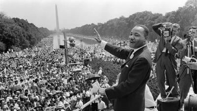 Who will carry on Dr. King's march for justice?