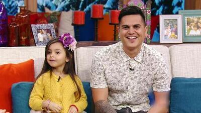 ¡La hija de Régulo Caro es un encanto y se robó el show!