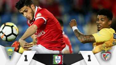 Con gol de último minuto, Benfica y Jiménez son líderes provisionales en Portugal