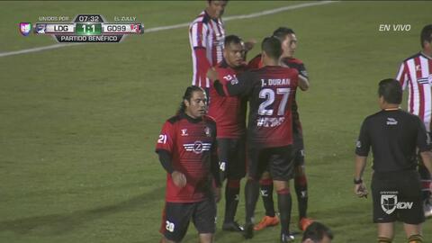 ¡Gol, gol, gol, gol del 'Goyo' Torres! Cae el tercer gol, segundo para Atlas