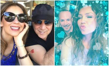 Tommy Mottola festeja sus 68 años con su amada Thalía