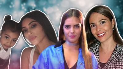 La hija de Kim Kardashian y otros hijos de famosos que ya siguen los pasos de sus padres