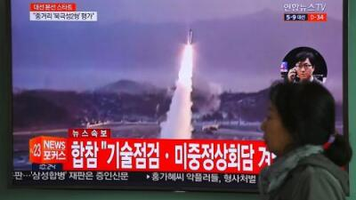 Corea del Norte desafía a EEUU y realiza una nueva prueba fallida de misil