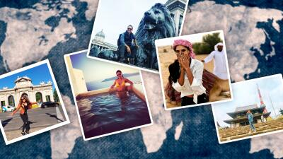 Nuestros conductores tienen alma viajera: mira cómo han sido sus vacaciones en otros continentes