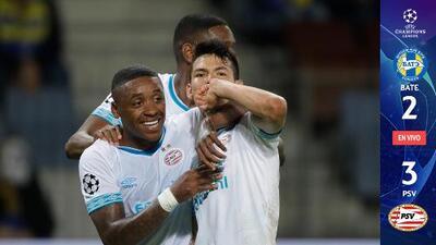 RESUMEN EXTENDIDO: BATE Borisov 2-3 PSV Eindhoven - Play-Offs UEFA Champions League