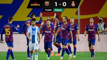 Barcelona le dice 'adeu' al Espanyol que desciende en España