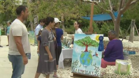 Decenas de voluntarios celebran el Día de la Tierra con labores de limpieza en el sur de Florida