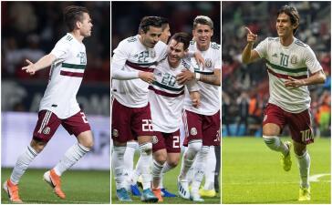 En fotos: México vence a Trinidad y Tobago 2-0 en partido amistoso