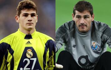 Así ha sido el cambio de Íker Casillas en las Champions que ha disputado: va para 20 años