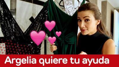Argelia te enseña los vestidos que podría usar en los Latin GRAMMY