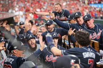 En fotos: La victoria de los Braves sobre los Cardinals