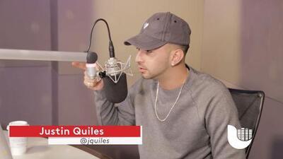 Justin Quiles es un hombre de pocas palabras