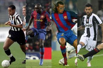 ¿A quién le harán fuerza? Los jugadores que jugaron para el Barça y la Juve