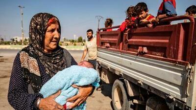 Trump 'se lava las manos', mientras los kurdos huyen de la ofensiva turca en Siria