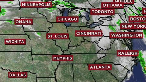 Cielos más nublados y lluvias en la noche, el pronóstico para este lunes en Chicago