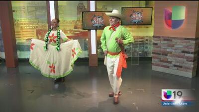 Grupo folclórico Los Alteños se presenta en Fiesta Latina en Sacramento
