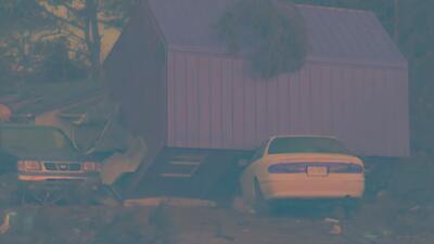 Tormenta nocturna deja daños en Carolina del Norte