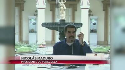 Maduro no reconoce a Guaidó como presidente legítimo