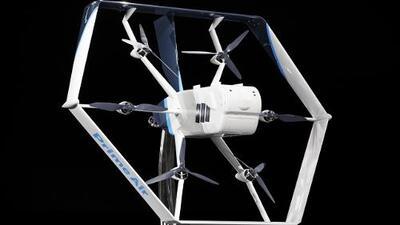 """Amazon Prime Air: los drones que te llevarán los paquetes a la casa """"en unos meses"""""""