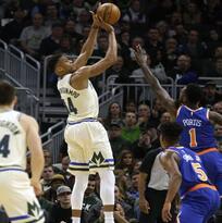 Milwaukee aplasta a New York y ostenta la mejor marca de la NBA