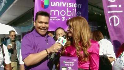 Univision Mobile y el Niño Prodigio presentes en Nueva York