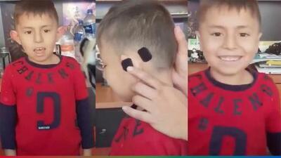 (Video) Por orejón, madre le pega a su hijo las orejas con velcro