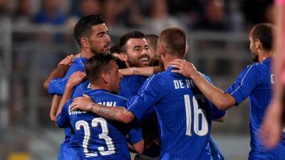Italia venció a Escocia en el primer amistoso hacia la Eurocopa 2016